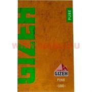 Бумага для самокруток Gizeh Pure Fine 100 шт (тонкая)