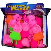 Игрушка ежик светяшка перснаж мультфильмов цвета миксом цена за 288 шт