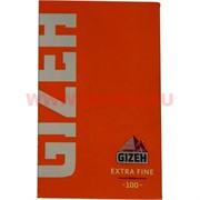 Бумага для самокруток Gizeh Extra Fine 100 шт (ультратонкая)