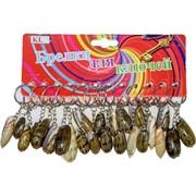 Брелок (KL-235) ракушка натуральная, цена за 120 шт (2400 шт/кор)