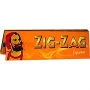 Бумага для самокруток Zig Zag коричневая 50 шт/уп (Франция) Liquorice