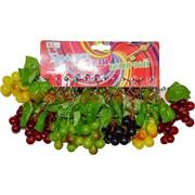 Брелок (KL-603) виноград с листьями, цена за 120 шт (1200 шт/кор)