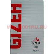 Бумага для самокруток Gizeh Fine 100 шт на магните (тонкая)