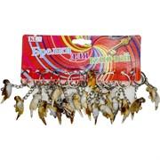 Брелок (KL-654) попугай под кость, цена за 120 шт (2400 шт/кор)