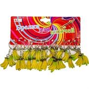 Брелок (KL-491) бананы связка, цена за 120 шт (2400 шт/кор)