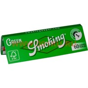 Бумага для самокруток Smoking Green 60 шт