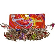 Брелок (KL-519) ласточка цветная, цена за 120 шт (2400 шт/кор)