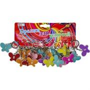Брелок (KL-719) бабочка цветная пластмасса, цена за 120 шт (2640 шт/кор)
