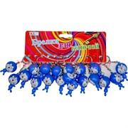 Брелок (KL-333) котик синий, цена за 120 шт (1200 шт/кор)