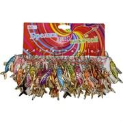 Брелок (KL-29) рыбка цветная, цена за 120 шт (2400 шт/кор)