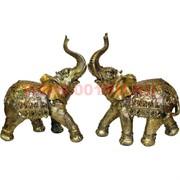 Слоники из полистоуна большие, цена за пару (23 см высота)