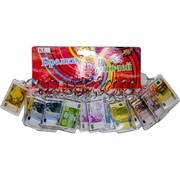 Брелок (KL-55) евро в пластмассе, цена за 120 шт (1200 шт/кор)