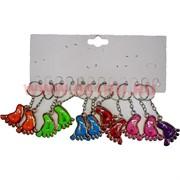 Брелок (KL-15-639) нога цветная Love, цена за 120 шт (2400 шт/кор)