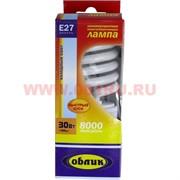 Лампа энергосберегающая Облик 30 Вт (150 Вт)