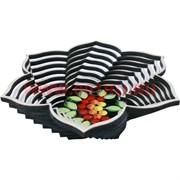 Тарелка для фруктов, конфет из березы