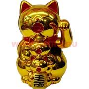 "Коты Манэки Нэко ""семья"" 14,5 см высота, 3 цвета (на батарейках)"