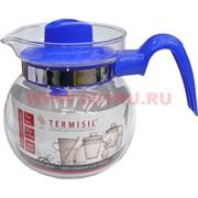 """Чайник 1л """"Termisil"""" из жаропрочного стекла, 6 шт/кор"""