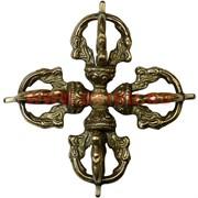 Ваджра-крест большой 10,5 см