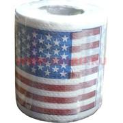 "Прикол Туалетная бумага ""Американский флаг"""