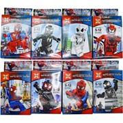 Конструктор Spider-Man 6 моделей 12 шт/уп