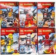 Конструктор Deadpool 6 моделей 12 шт/уп