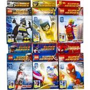 Конструктор Super Heroes 6 моделей 12 шт/уп