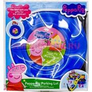 """Свинка Пеппа """"парковка"""" Peppa Pig parking lot"""