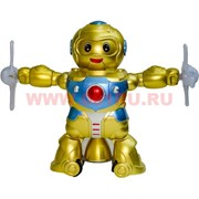 """Игрушка музыкальная """"Робот"""" крутящаяся"""