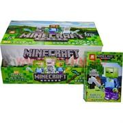 Конструктор MineCraft 6 моделей 12 шт/уп