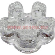 Подставка стеклянная для чайника под чайную свечу 4,5х11 см (50 шт/кор)