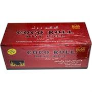 Уголь для кальяна Al-Waha 1 кг кокосовый Coco Roll