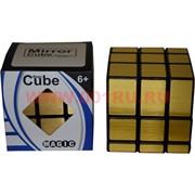 Игрушка Кубик Головоломка 6 см цвет «золото» Magic Cube