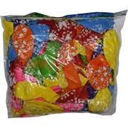 Шарики надувные 12 дюймов «Цветочки» 100 шт/уп