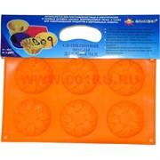 Силиконовая форма для выпечки (MB-09) цена за коробку из 60 шт, цвета в ассортименте