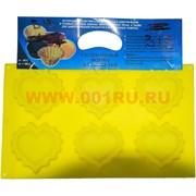 Силиконовая форма для выпечки (B-13) цена за коробку из 60 шт, цвета в ассортименте