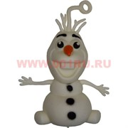 Игрушка мягкая светящася «заяц-снеговик» цена за 24 шт/уп