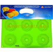 Силиконовая форма для выпечки (MB-15) цена за коробку из 60 шт, цвета в ассортименте