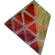 Игрушка головоломка Треугольник прозрачный цветной