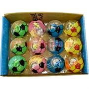 Игрушка мячик светящийся 55 мм (AN-28) цена за 12 шт