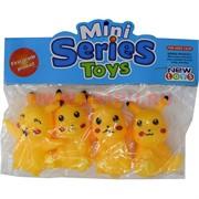 Игрушка «Покемоны» набор из 4 шт Mini Series Toys