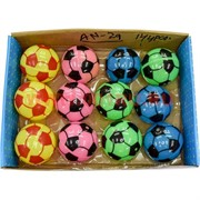 Игрушка мячик светящийся 55 мм (AN-29) цена за 12 шт