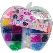 """Набор резинок для плетения браслетов """"яблоко Apple"""" большой"""