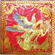 Салфетка денежная 17х17 см «Орел» цветная, цена за пару