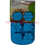 Силиконовая форма для выпечки (B-087) цена за коробку из 72 шт, цвета в ассортименте