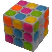 Игрушка Кубик Головоломка 6 см с выпуклыми сегментами