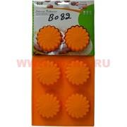 Силиконовая форма для выпечки (B-082) цена за коробку из 72 шт, цвета в ассортименте