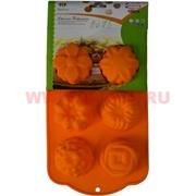 Силиконовая форма для выпечки (B-085) цена за коробку из 72 шт, цвета в ассортименте