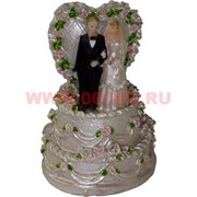 Жених с невестой на торте (KL-1085) полистоун (192 шт/кор)