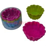 Силиконовые формы для кексов (MB-08) цена 100 наборов, 6 шт/набор