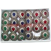 Набор колец размер 18-20 три цвета цена за упаковку 12 шт